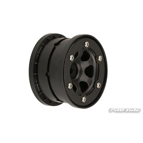 Proline Slash Epic 2.2 Rear Beadloc Wheels Aluminium Black