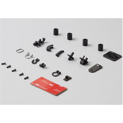 Killerbody Hoes & Grommets Set (Die-cast alloy black)