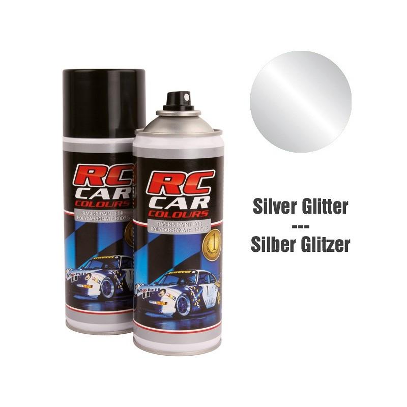 RC Car Colours Tinta para Policarbonato/Lexan Cinza Glitter 924