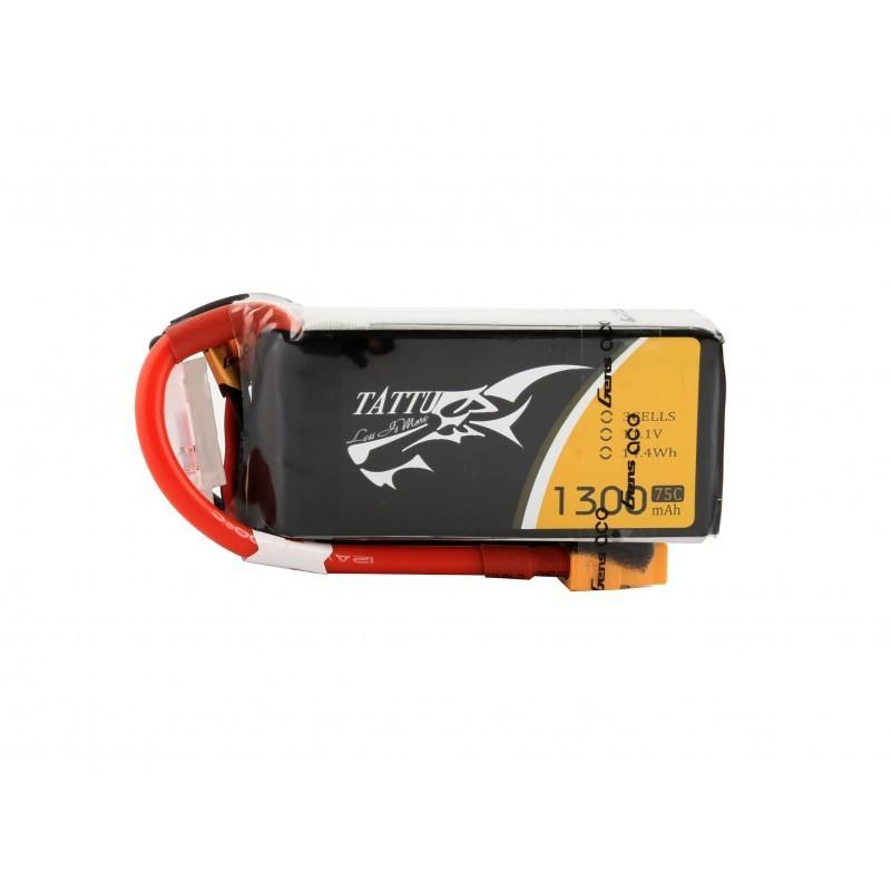 TATTU Bateria Lipo 1300mAh 11.1V 75C 3S1P