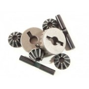4 Bevel Gear Differential Conversion Set (1 Set) Convert R40 or Savage standard gear diff to 4 bevel gear diff
