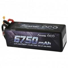 Bateria Lipo Gens Ace 35C 6750mAh 3S1P 14.8V HardCase