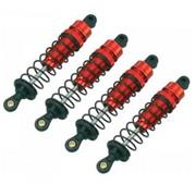 Carson 1:10 Alu Threaded Shock Set Truggy