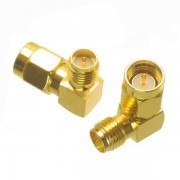 EMax SMA 90º Male to Male Adapter RP-SMA