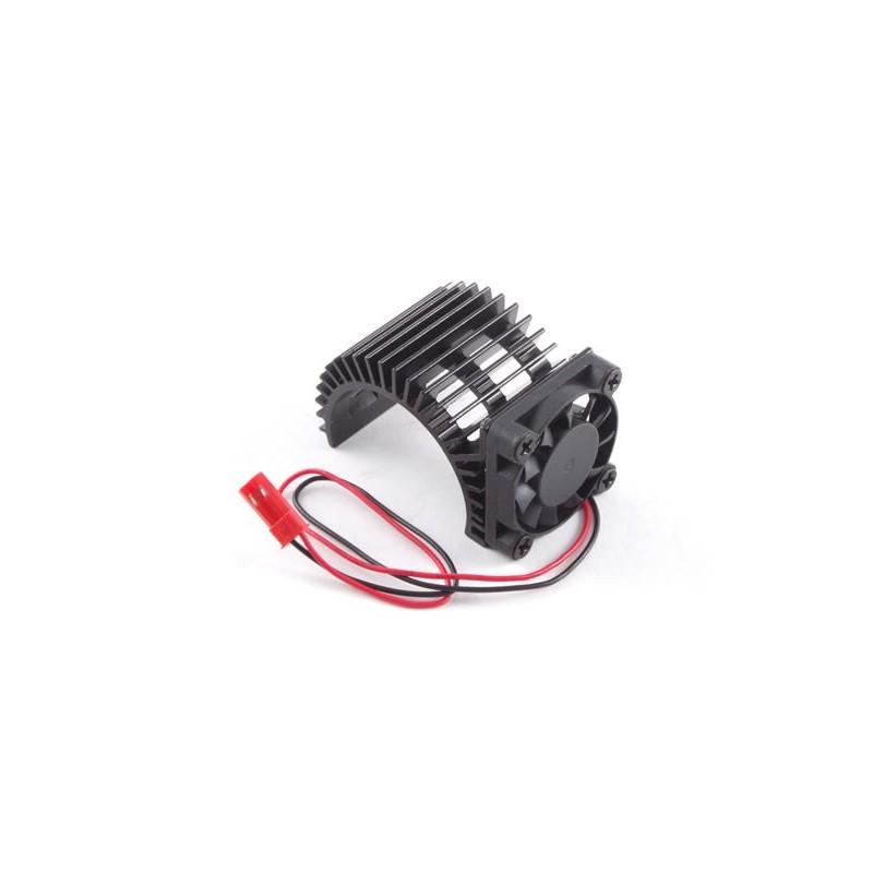 Fastrax Aluminium Motor Heatsink Fan Unit(Fan On Side)