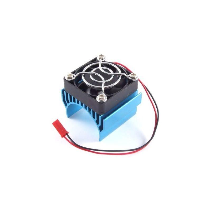 Fastrax 1/8 Aluminium Motor Heatsink Fan Unit