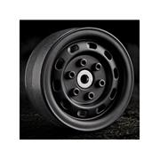 GMade 1.9 SR02 Beadlock Wheels (Matt Black) (2)