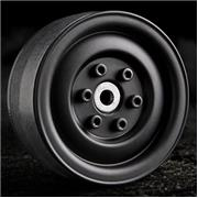 Gmade 1.9 SR03 Beadlock Wheels (Matt Black) (2)