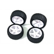 Absima Wheel Set Buggy 5-Spokes (4)