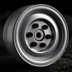 GMade 1.9 SR03 Beadlock Wheels (Silver)