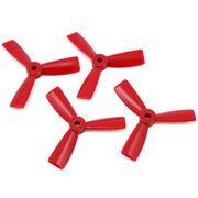Dalprops 3045 Bull Nose 3 Blade (4pcs) Red