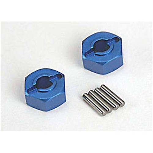 Traxxas Wheel Hubs Hex (2)/ Axle Pins (2)