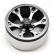 "Fastrax 1.9"" Heavy Duty 6-Spoker Alloy Beadlock Wheels (X2)"