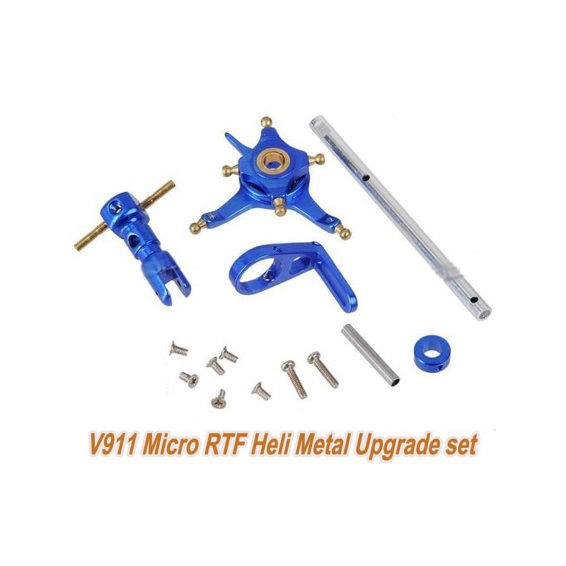 WL Toys  Kit Rotor Aluminio V911 Azul