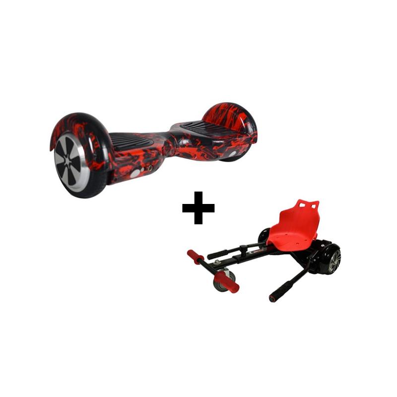 "Balance Scooter - 6.5""- C/ Bluethoot + Hoverkart"