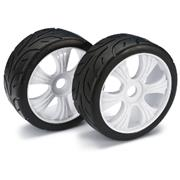 Absima Wheel Set LP Buggy Street White 1:8 (2pcs)