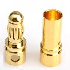 Ripmax Conector 3.5mm Bullet (par)