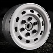 GMade 1.9 SR02 Beadlock Wheels (Gloss White) (2)