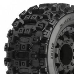 """Proline Badlands MX28 2.8"""" All TERR. BLK F11 Rear Wheel 17mm"""
