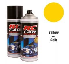 RC Car Colours Tinta para Policarbonato/Lexan Amarelo