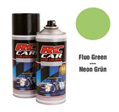 RC Car Colours Tinta para Policarbonato/Lexan Verde Fluorescente