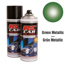 RC Car Colours Tinta para Policarbonato/Lexan Verde Metalizado