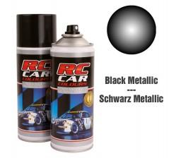 RC Car Colours Tinta para Policarbonato/Lexan Preto Metalizado