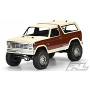 Proline 1981 Ford Bronco Clear Body 313mm W/B Crawler
