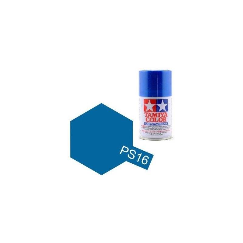 Tamiya PS-16 Metallic Blue Polycarbonate 100ml