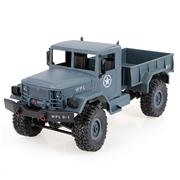 WPL B-1 1:16 2.4GHz Off-Road RC Military Truck - Blue