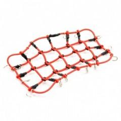 Fastrax Luggage Net W/hooks L190mm X W110mm (Unstretched)