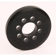 Spare Rubber Wheel 76mm for Robitronic Starterbox