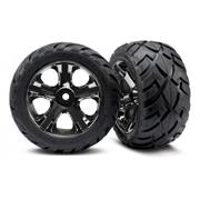 Traxxas Pneus Anaconda All Star Wheels Colados (Par)