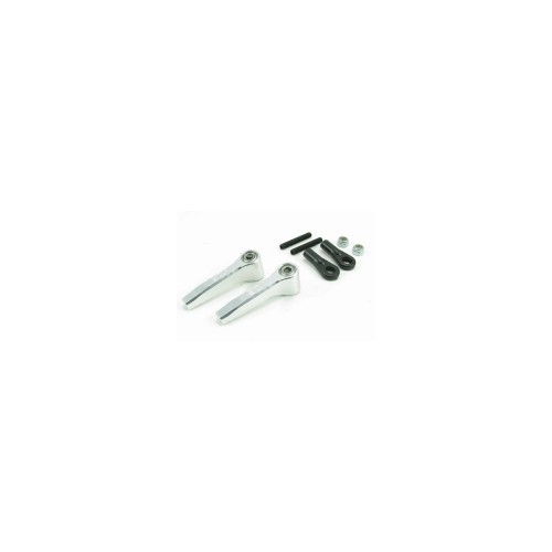 Align T-Rex 700 Series Main Rotor Grip Control Links, XT Clear Anodized