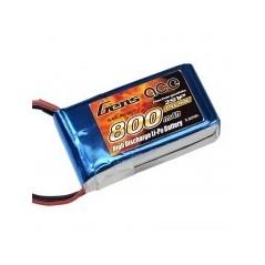 Bateria Lipo Gens Ace 40C 800mAh 2S1P