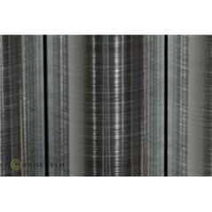 Oracover Aluminio Escovado 100 x 60cm (Sem Cola)