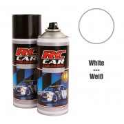 RC Car Colours Tinta para Policarbonato/Lexan Branco