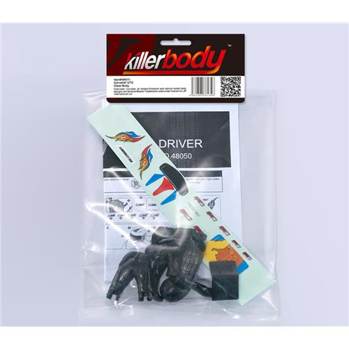 Driver Doll white + Decal Set