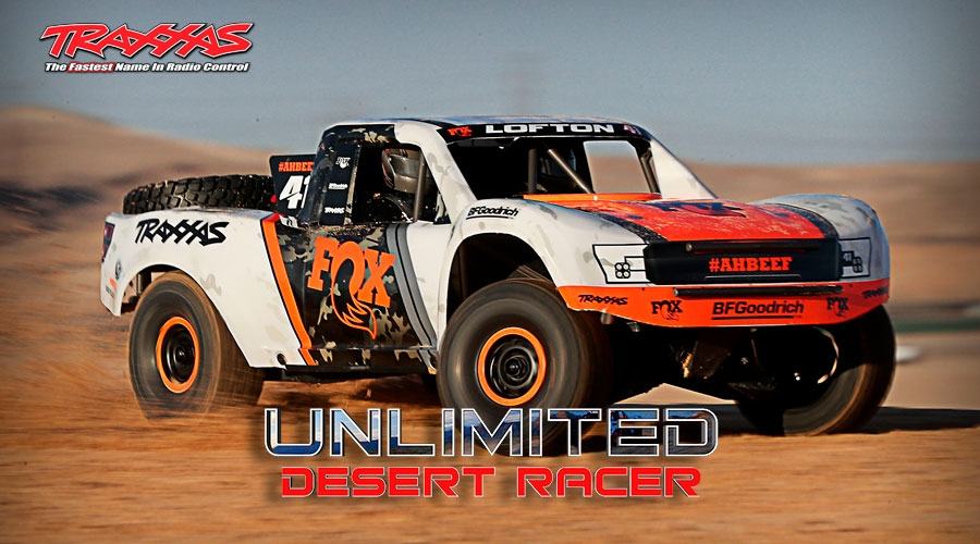 Unlimited Desert Racer